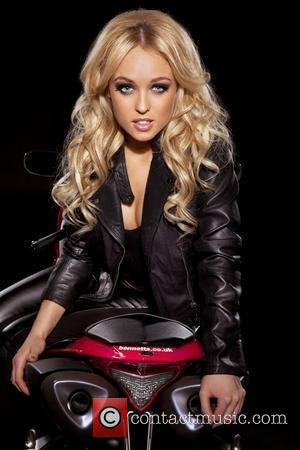 'Hollyoaks' Jorgie Porter ditches lycra for leathers as she launches the search for the 2012 Bennetts Babes. The annual competition,...
