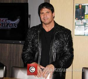 Jose Canseco  makes an appearing at PBR Rock Bar inside Planet Hollywood to sign baseballs for $50 a piece...