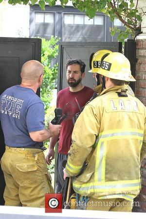 Josh Kelley Firefighters arrive to the home of Josh Kelley and actress Katherine Heigl. Los Angeles, California - 29.03.12