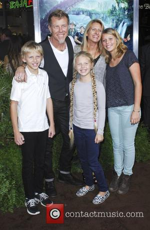 James Hetfield, family  The Los Angeles Premiere of 'Journey 2: The Mysterious Island' held at The Grauman's Chinese Theatre...