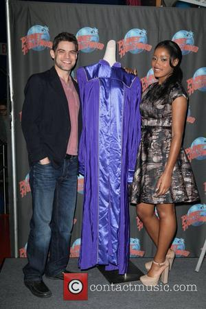 Jeremy Jordan and Keke Palmer  promoting the new movie 'Joyful Noise' at Planet Hollywood Times Square New York City,...