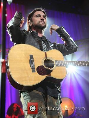 Juanes performing live at the Roseland Ballroom New York City, USA - 14.05.12