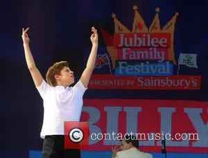 Young actor from 'Billy Elliot The Musical' performs Jubilee Family Festival at Hyde Park London, England - 02.06.12