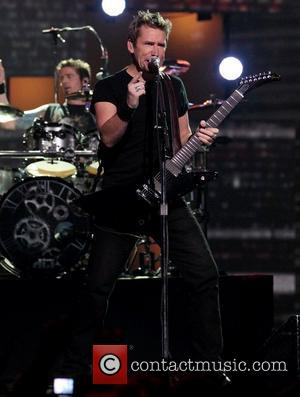 Chad Kroeger of Nickelback  2012 JUNO Awards at The Scotiabank Place - Show Ottawa, Canada - 01.04.12