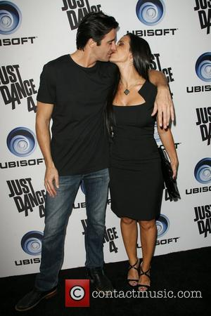 Gilles Marini with wife Carole Ubisoft's Just Dance 4 Launch Party held at Lexington Social House Los Angeles, California -...