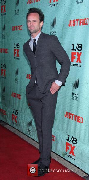 Walton Goggins FX's 'Justified' Season 4 premiere held  at Paramount Studios  Featuring: Walton Goggins Where: Hollywood, California, United...