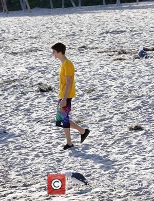 Justin Bieber and Malibu Beach