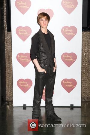 Madame Tussauds unveils Justin Bieber wax figure.  Las Vegas, Nevada - 25.01.12