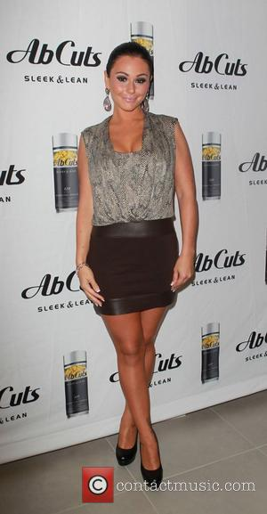 Jenni 'JWoww' Farley attends the in-store promotion on behalf of Ab Cuts Sleek and Lean by Revolution at The Beverly...