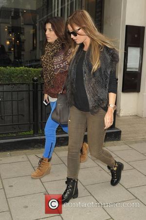 Holly Valance  leaving KAI restaurant London, England - 09.11.12
