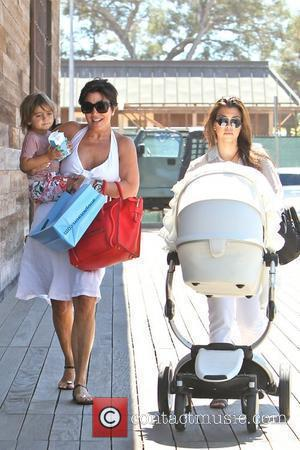 Kourtney Kardashian, Kris Jenner and Mason