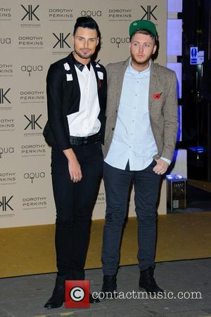 Rylan Clark and James Arthur