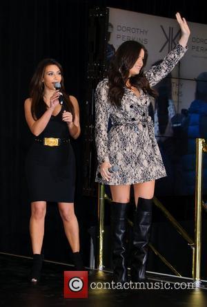 Kim Kardashian and Khloe Kardashian Odom
