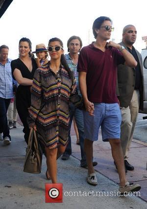 Scott Disick, Kourtney Kardashian, Khloe Kardashian, Mason Disick and Jonathan Cheban