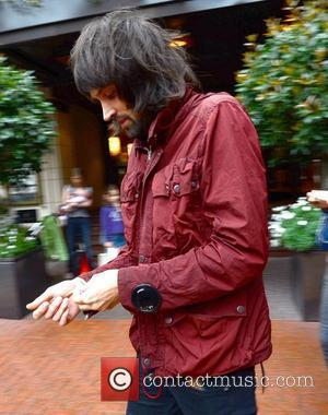 Sergio Pizzorno of Kasabian leaving his hotel on the way to a concert Dublin, Ireland - 23.08.12