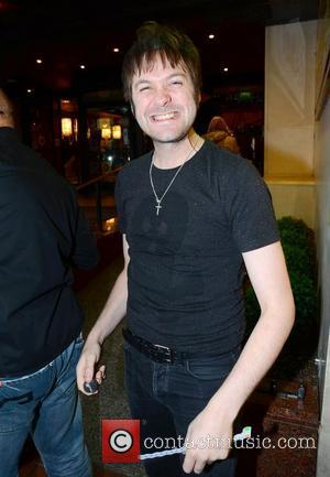 Tom Meighan of Kasabian leaving his hotel on the way to a concert Dublin, Ireland - 23.08.12