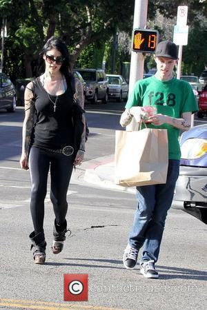 Kat Von D out and about in West Hollywood with a friend Los Angeles, California - 06.09.12