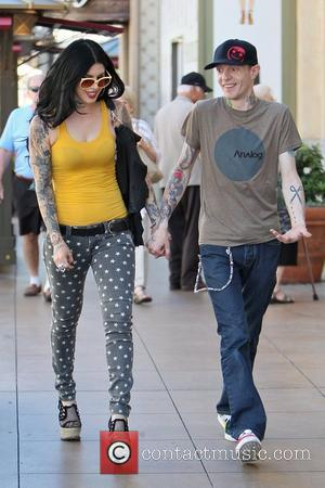 Kat Von D and boyfriend Deadmau5 seen shopping after having lunch at The Grove Los Angeles, California - 20.09.12