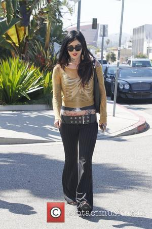 Kat Von D out and about on Melrose Boulevard Los Angeles, California - 20.03.12