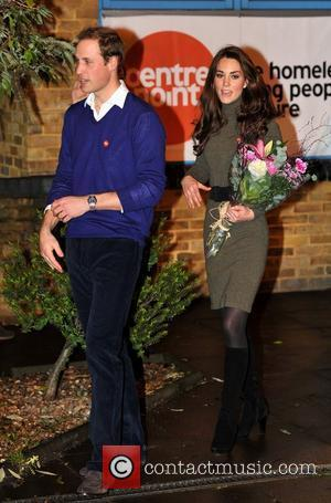 Prince William, Duke of Cambridge and Catherine, Duchess of Cambridge, formerly Kate Middleton visit homeless charity Centrepoint in Camberwell. London,...