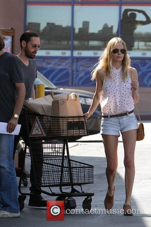 Actress Kate Bosworth and Michael Polish