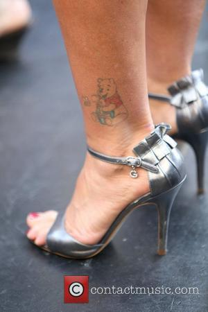Kate Gosselin, Tattoo and Winnie The Pooh