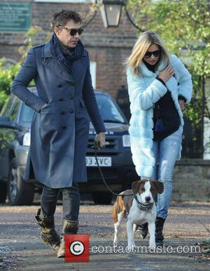 Kate Moss, Jamie Hince, Archie and Highgate