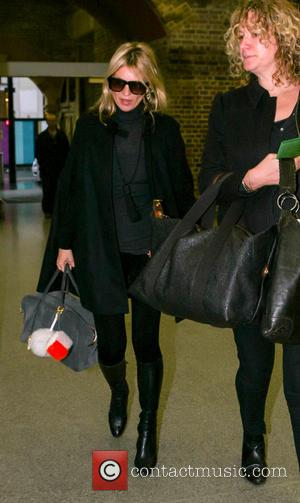 Kate Moss, Kings Cross St. Pancras, Station and Eurostar