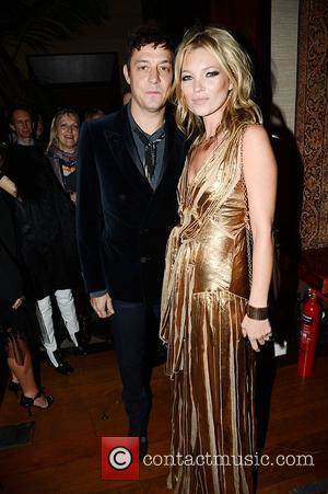 Jamie Hince and Kate Moss  Marc Jacobs hosted the launch party of Kate: the Kate Moss Book by Rizzoli....