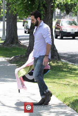 Josh Kelley arrives for a Mother's Day party a private residence in Los Angeles Los Angeles, California - 13.05.12