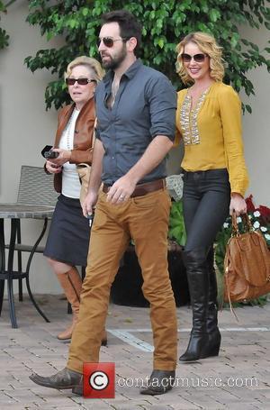Josh Kelley, Nancy Heigl and Katherine Heigl