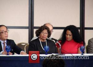 Katherine Jackson attends a press conference ahead of Japan's two-day tribute concert to Michael Jackson on 13th-14th December Tokyo, Japan...