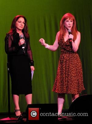 Gloria Estefan and Kathy Griffin