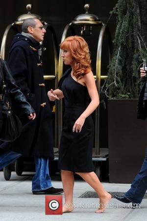 Kathy Griffin and Manhattan Hotel