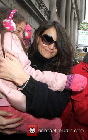 Suri Cruise Launching £1.5 Million Fashion Line. She Is 7 Years Old.