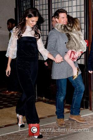 Katie Holmes, Tom Cruise and Manhattan Hotel