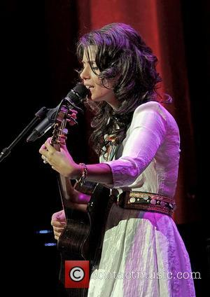 Katie Melua performing at Manchester Bridgewater Hall. Manchester, England - 14.10.12