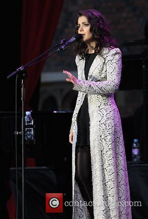 Katie Melua  performing live at Hampton Court Palace as part of the Hampton Court Palace Festival 2012 East Molesy,...