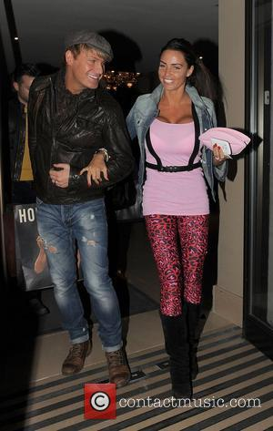 Katie Price, May Fair and Gary Cockerill