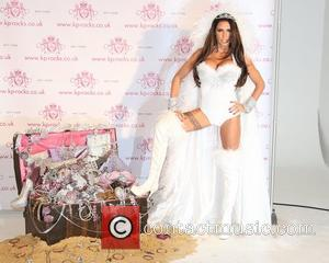 Katie Price Launches KP Rocks In Bizarre Bridal Get Up