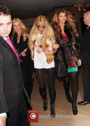 Katie Price and Lauren Pope