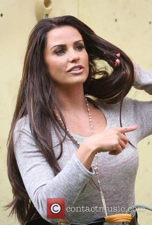 Katie Price aka Jordan Walker's deep ridged crisps - Britain's tallest climbing wall challenge - photocall, held at the Old...