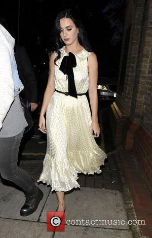 Katy Perry leaves Market Cafe in Hackney London, England - 07.06.12