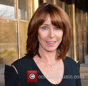 Kay Burley Celebrities outside the RTE Studios  Dublin, Ireland - 26.01.12