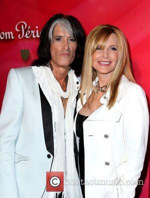 Joe Perry and guest 'Keep Memory Alive' Gala held at the MGM Grand Garden Arena - arrivals Las Vegas, Nevada...