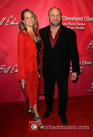 Randy Couture and guest 'Keep Memory Alive' Gala held at the MGM Grand Garden Arena - arrivals Las Vegas, Nevada...