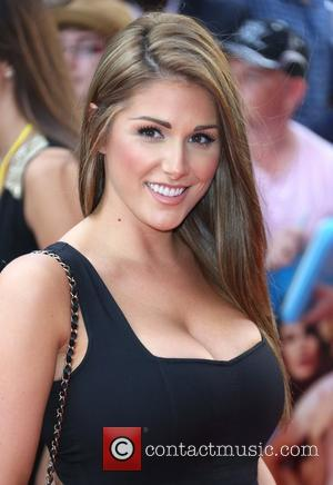 Lucy Pinder The World premiere of Keith Lemon the Film held at the Odeon West End - Arrivals London, England...
