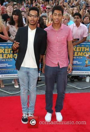 The Rizzle Kicks The World premiere of Keith Lemon the Film held at the Odeon West End - Arrivals London,...