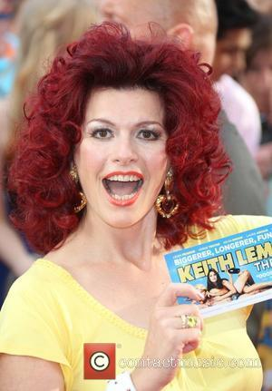 Cleo Rocos The World premiere of Keith Lemon the Film held at the Odeon West End - Arrivals London, England...