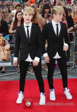 John Grimes, Edward Grimes aka Jedward The World premiere of Keith Lemon the Film held at the Odeon West End...